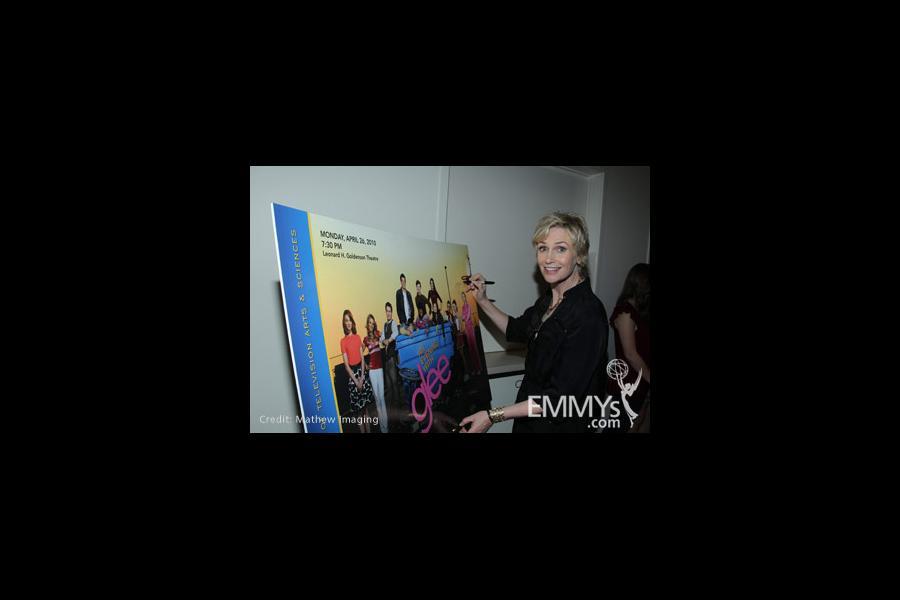 Jane Lynch as Sue Sylvester in Glee — Fox