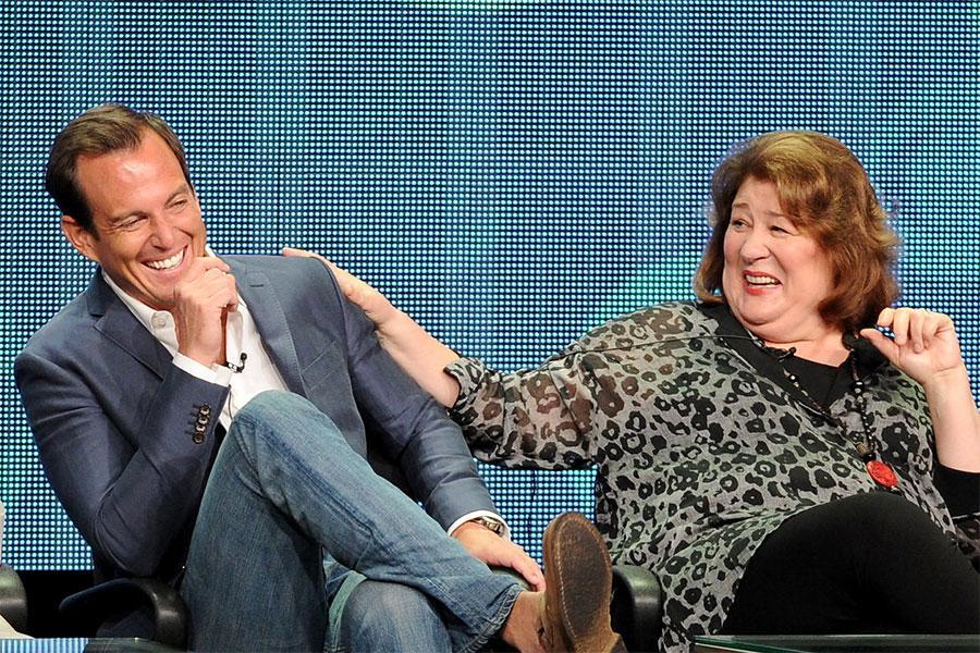 Will Arnett and Margo Martindale