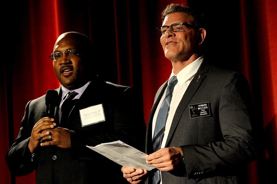 Daniel Evans III and Howard Meltzer