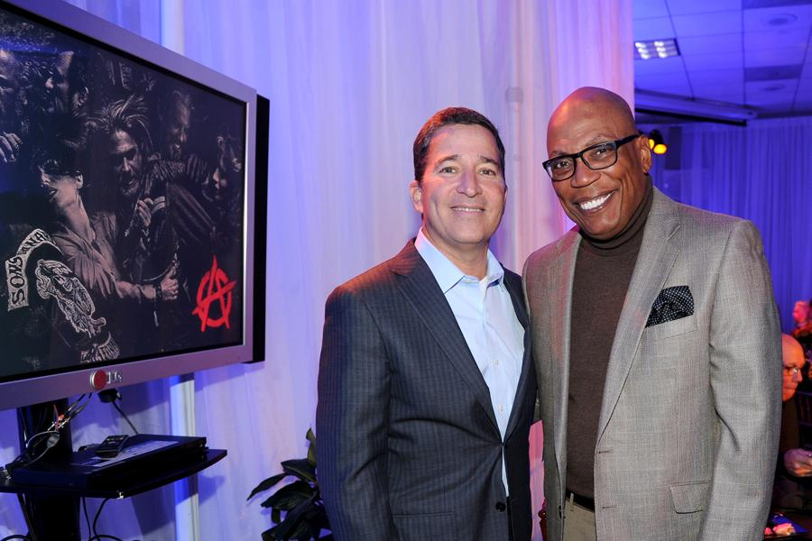 Bruce Rosenblum and Paris Barclay