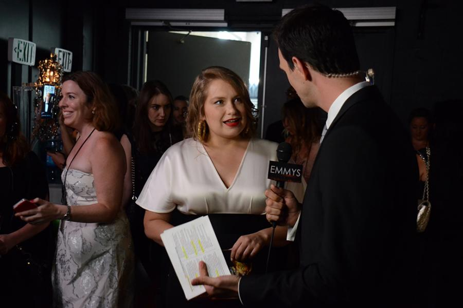 Merritt Wever at the Backstage Live Thank You Cam