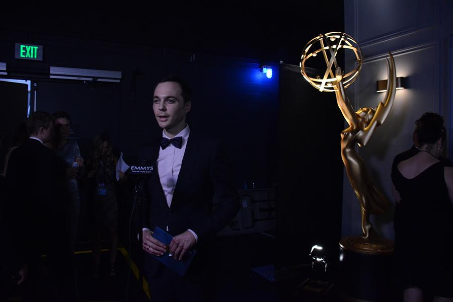 Jim Parsons at the Backstage Live Thank You Cam