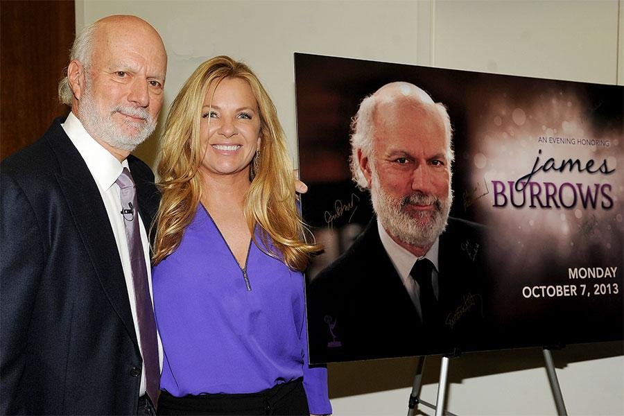 James Burrows and Debbie Easton