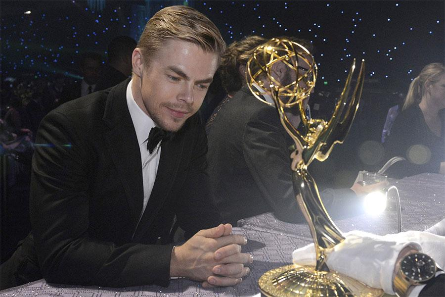 Derek Hough at the Governor's Ball