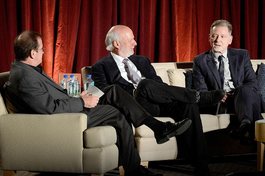 Pete Hammond, James Burrows and Warren Littlefield