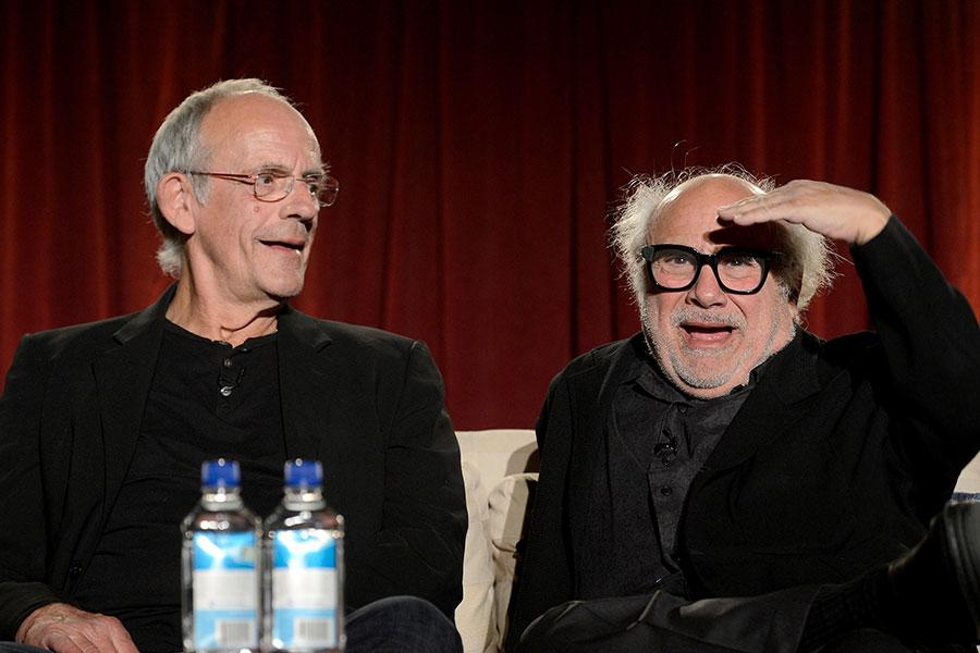 Christopher Lloyd and Danny DeVito