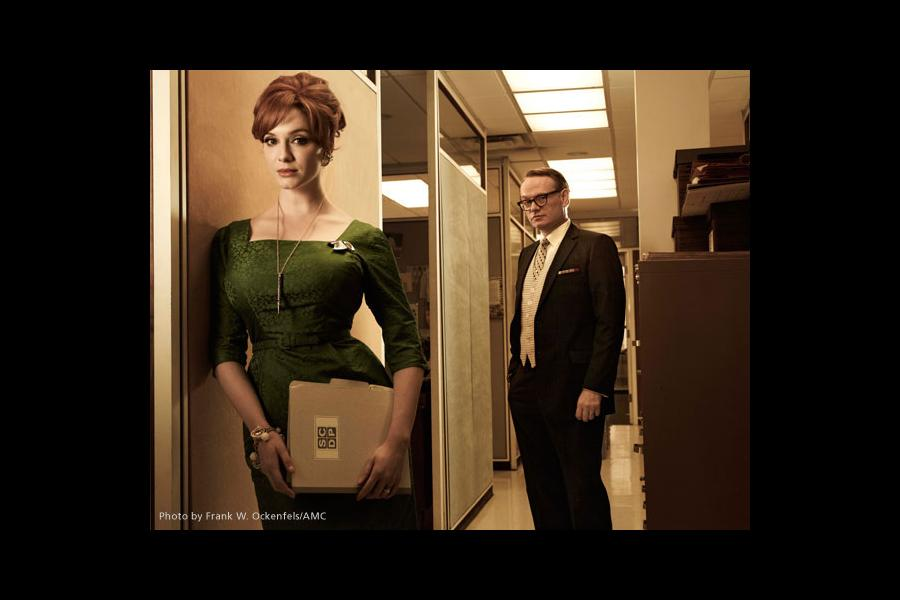 Christina Hendricks, Jared Harris