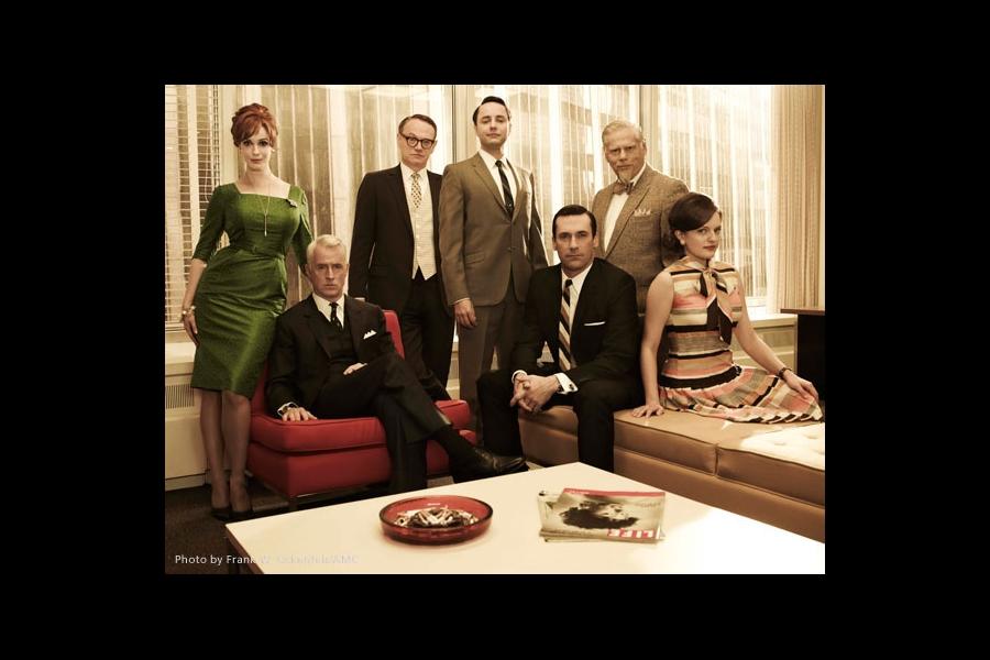 Elisabeth Moss, Jon Hamm, Christina Hendricks, Vincent Kartheiser, John Slattery, Jarrod Harris, Robert Morse