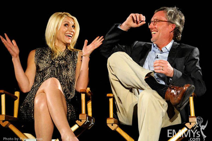 Claire Danes, Alex Gansa participate in an Evening with Homeland