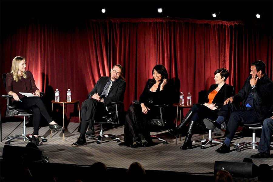 An Evening with Sons of Anarchy - Meg Masters, Kurt Sutter, Katey Sagal, Maggie Siff and Jimmy Smits