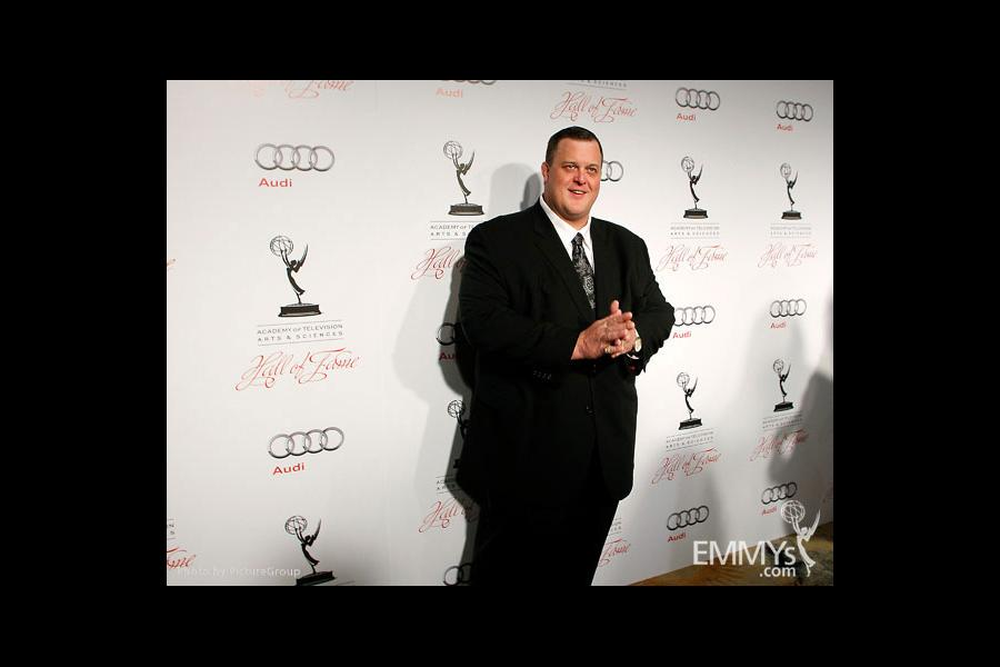 Billy Gardell arrives at the 21st Annual Hall of Fame Gala