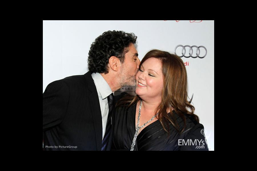 Chuck Lorre and Melissa McCarthy arrive at the 21st Annual Hall of Fame Gala