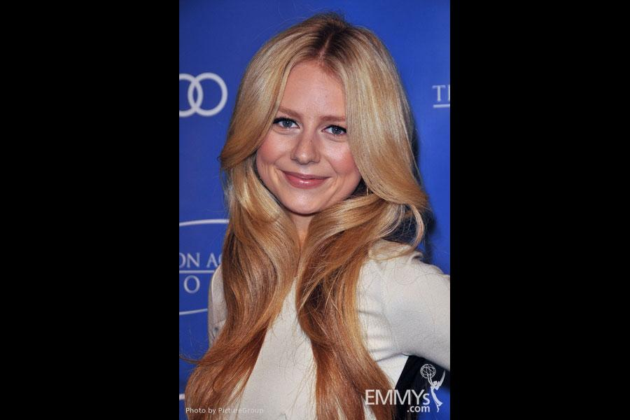Justine Lupe arrives at the 5th Annual Television Academy Honors