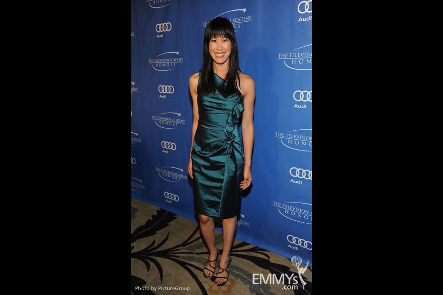 Laura Ling arrives at the 5th Annual Television Academy Honors