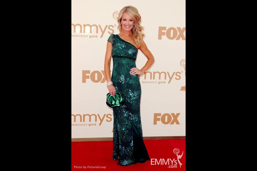 Brooke Anderson arrives at the Academy of Television Arts & Sciences 63rd Primetime Emmy Awards at Nokia Theatre L.A. Live
