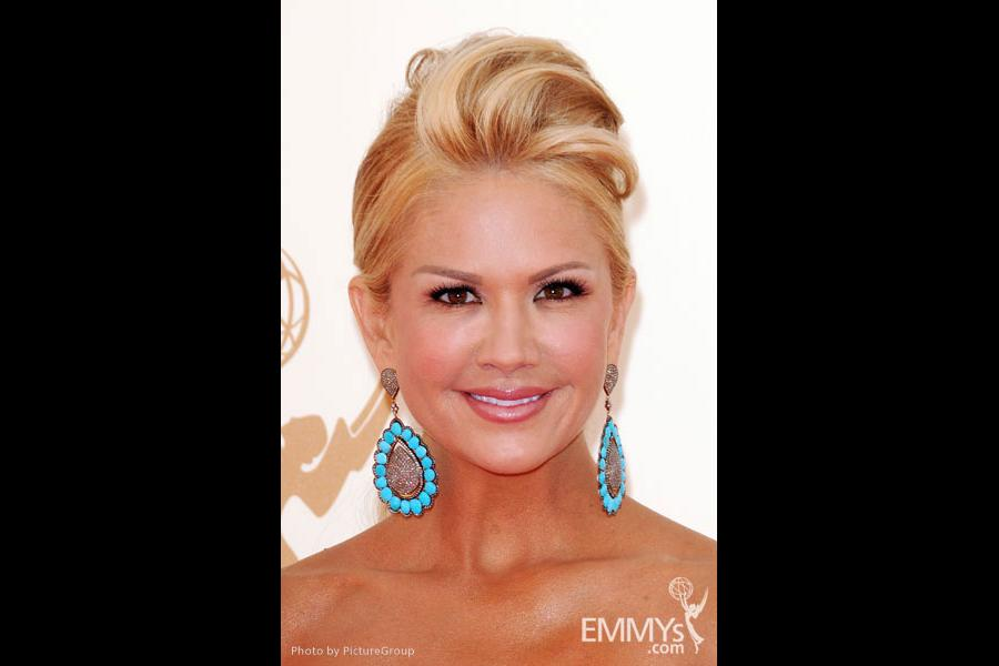 Nancy O'Dell arrives at the Academy of Television Arts & Sciences 63rd Primetime Emmy Awards at Nokia Theatre L.A. Live