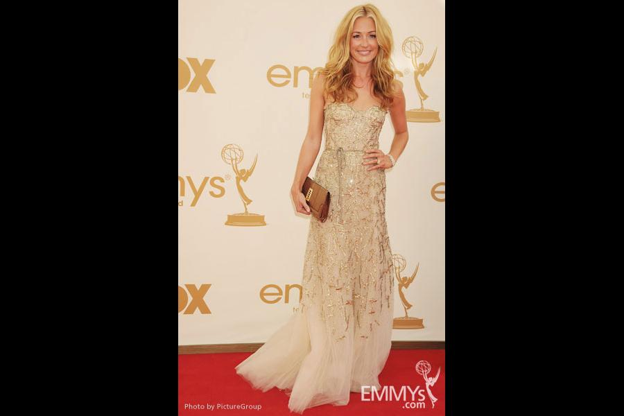 Cat Deeley arrives at the Academy of Television Arts & Sciences 63rd Primetime Emmy Awards