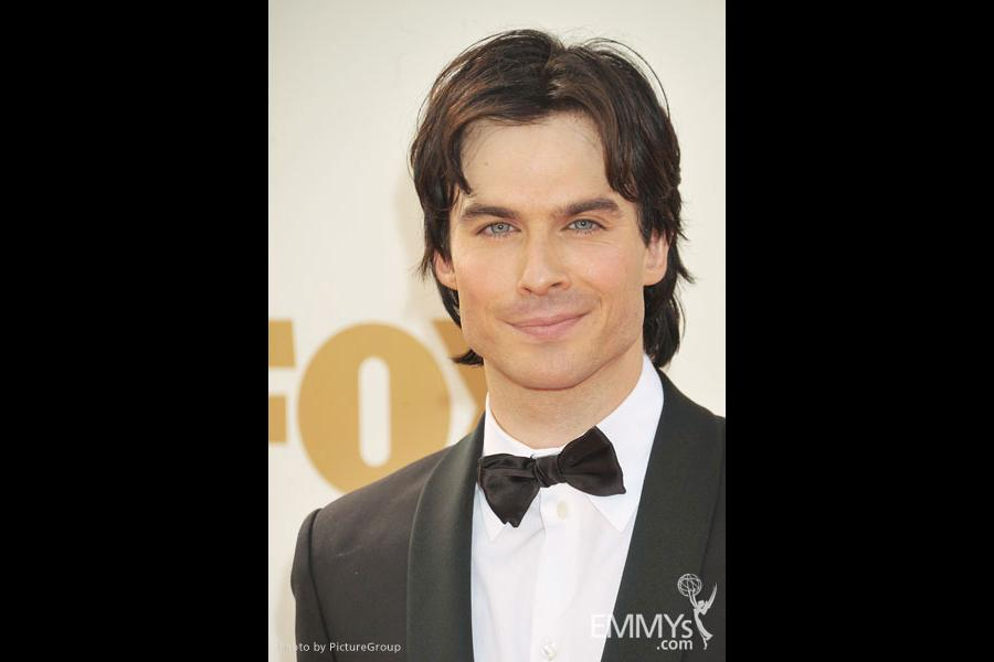 Ian Somerhalder arrives at the Academy of Television Arts & Sciences 63rd Primetime Emmy Awards at Nokia Theatre L.A. Live