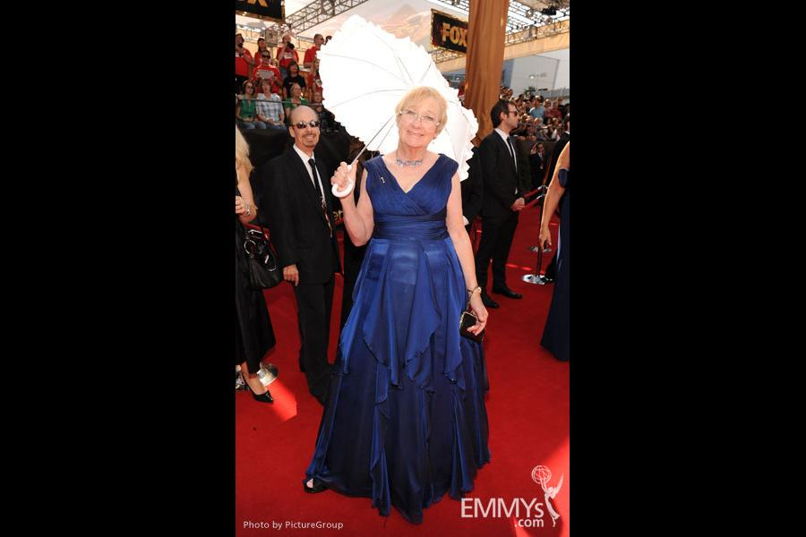 Kathryn Joosten arrives at the Academy of Television Arts & Sciences 63rd Primetime Emmy Awards at Nokia Theatre L.A. Live