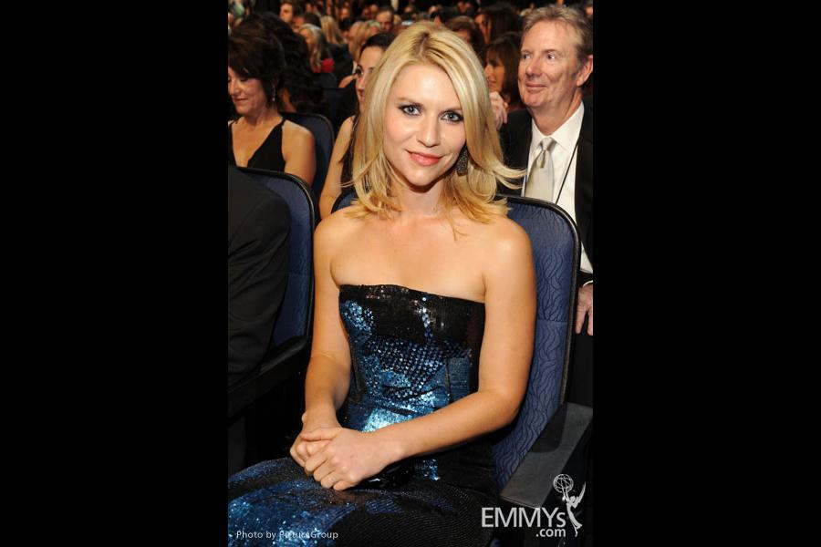 Claire Danes in the audience during the Academy of Television Arts & Sciences 63rd Primetime Emmy Awards