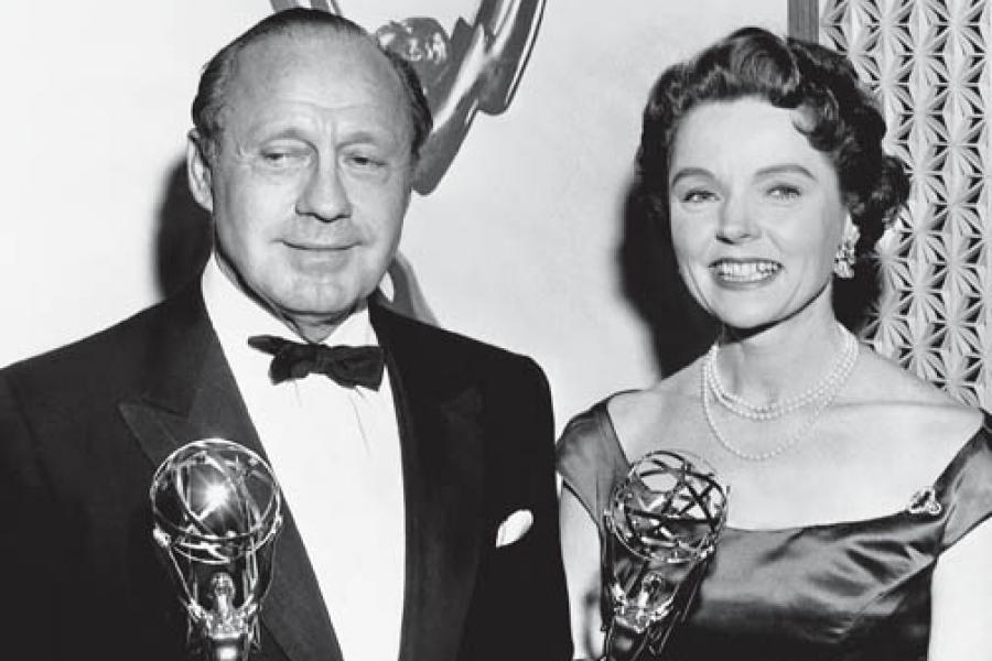 Classic Emmys - Jack Benny & Jane Wyatt