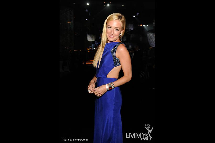 Cat Deeley attends the 2011 Academy of Television Arts & Sciences Primetime Creative Arts Emmy Awards Governors Ball