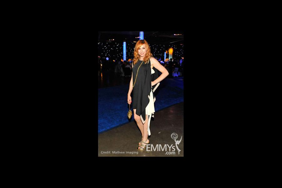 TV personality Kari Byron attends Governor's Ball during the 62nd Primetime Creative Arts Emmy Awards at Nokia Theatre