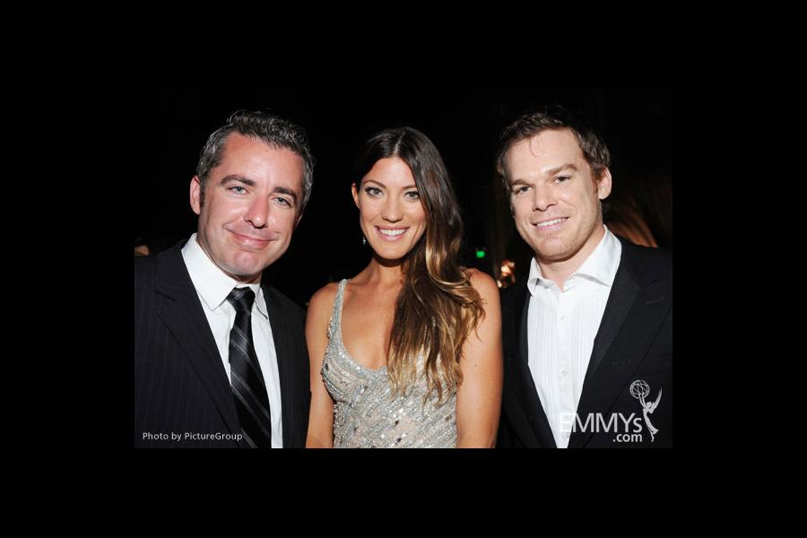 (L-R) Jason Jones, Jennifer Carpenter and Michael C. Hall attend the Governors Ball