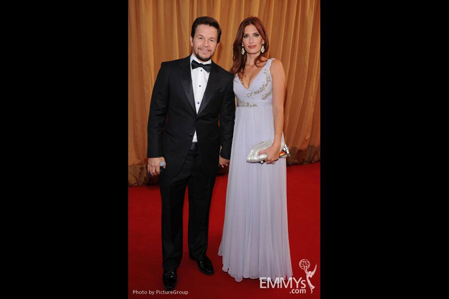 Mark Wahlberg and Rhea Durham arrive at the Academy of Television Arts & Sciences 63rd Primetime Emmy Awards