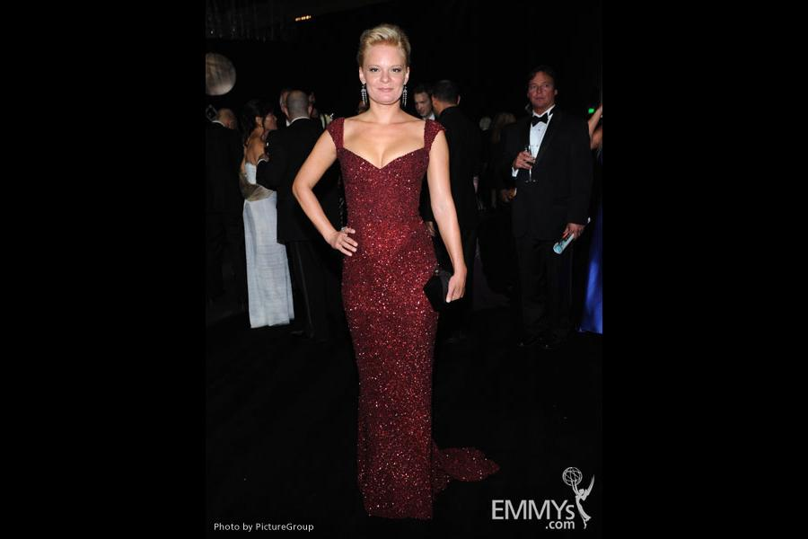 Martha Plimpton attends the Governors Ball during the Academy of Television Arts & Sciences 63rd Primetime Emmy Awards