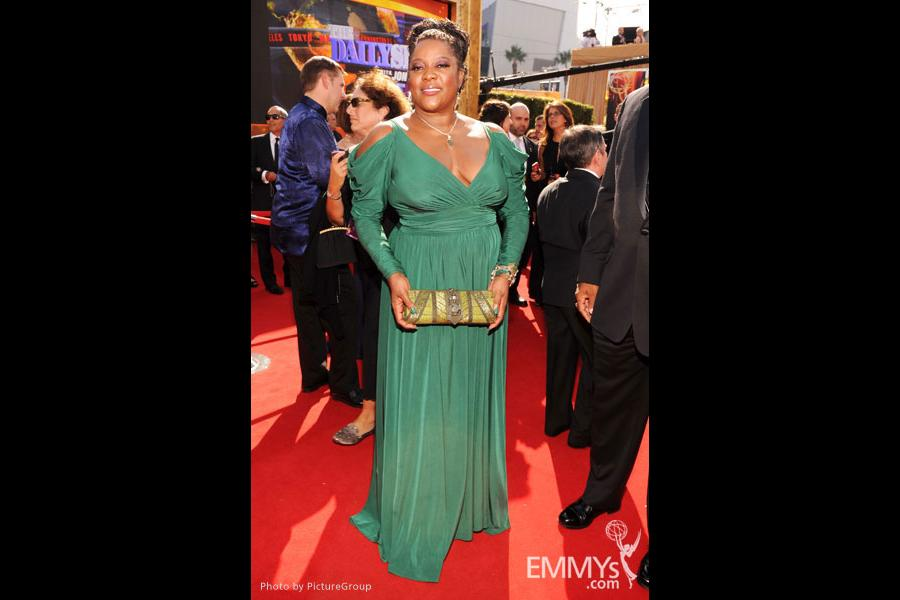 Loretta Devine arrives at the Academy of Television Arts & Sciences 63rd Primetime Emmy Awards