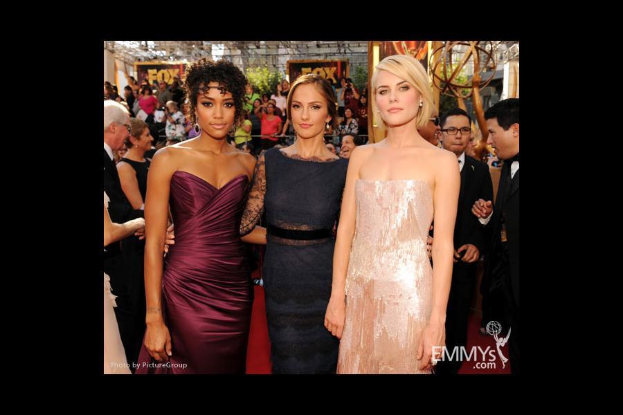 (L-R) Annie Ilonzeh, Minka Kelly and Rachael Taylor