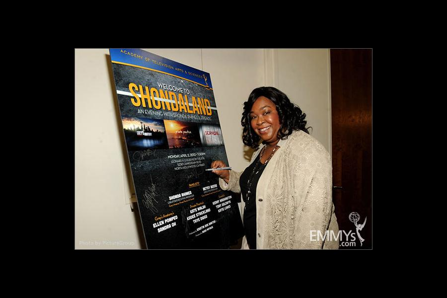 Shonda Rhimes attends Welcome to Shondaland