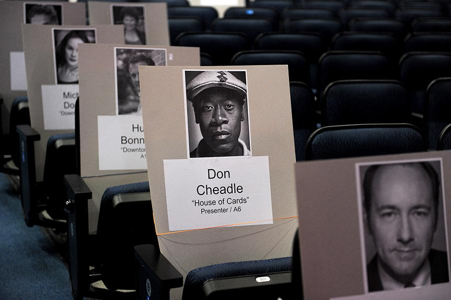 Don Cheadle sits his way into another show for the 65th Emmy Awards.