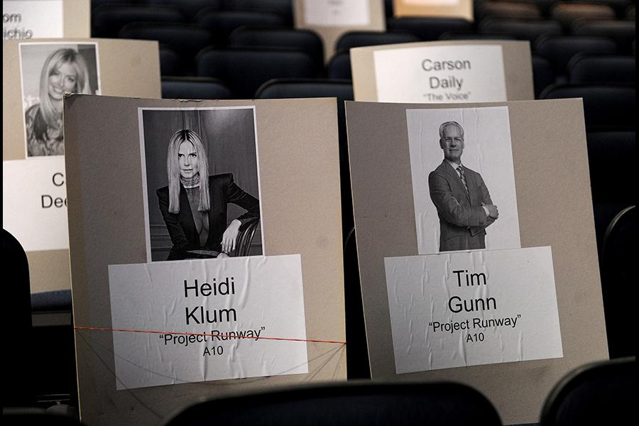 Of course they'd sit together for the 65th Emmy Awards.