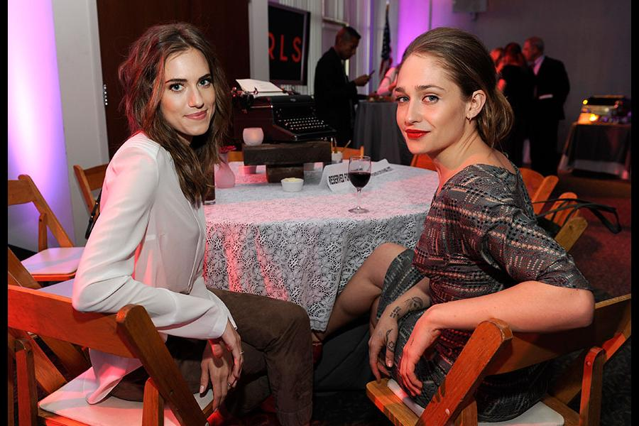 Allison Williams, Jemima Kirke