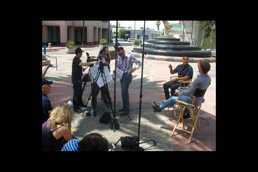 Choreographers' video shoot