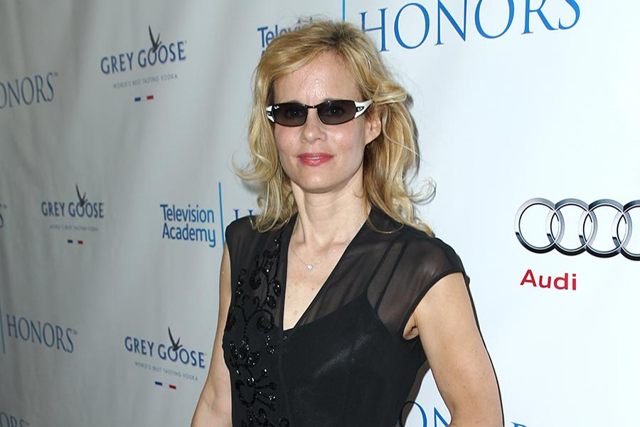 Lori Singer, executive producer of Mea Maxima Culpa: Silence in the House of God, arrives for the Seventh Annual Television Academy Honors in Beverly Hills, California.