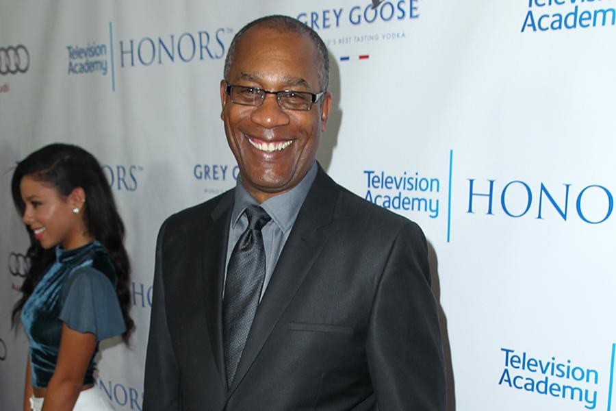 Joe Morton (Scandal) arrives for the Seventh Annual Television Academy Honors in Beverly Hills, California.