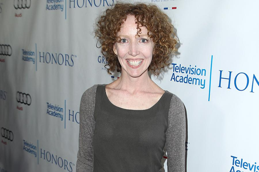 Darlene Hunt, executive producer of The Big C: hereafter, arrives for the Seventh Annual Television Academy Honors in Beverly Hills, California.