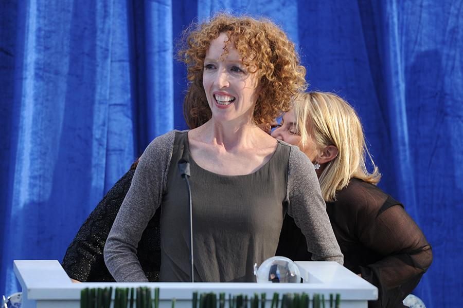 Darlene Hunt, executive producer of The Big C: hereafter, at the Seventh Annual Television Academy Honors in Beverly Hills, California.