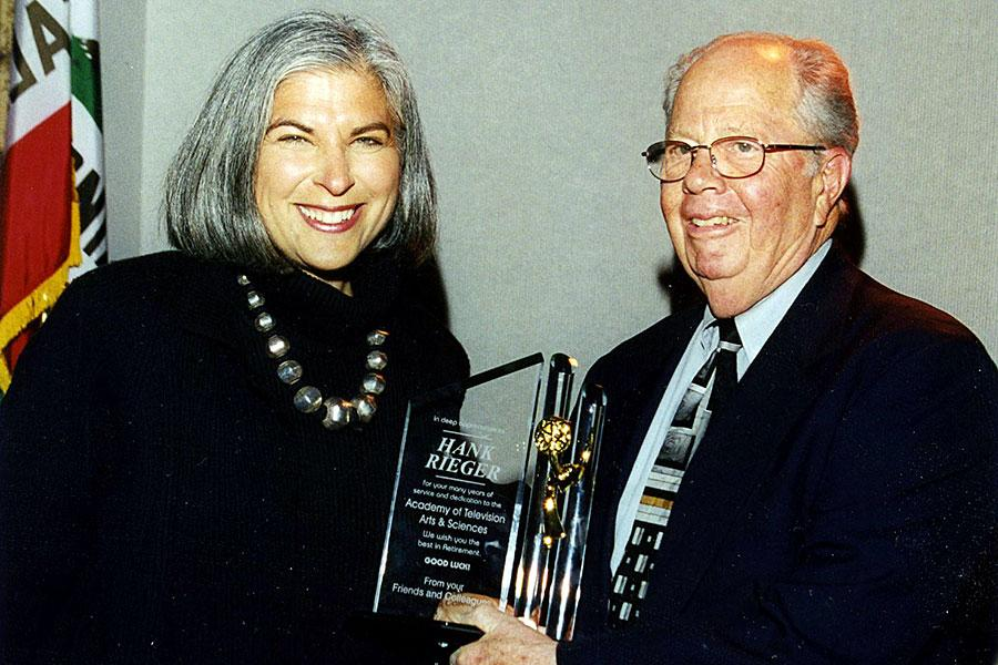 Meryl Marshall with Hank Rieger