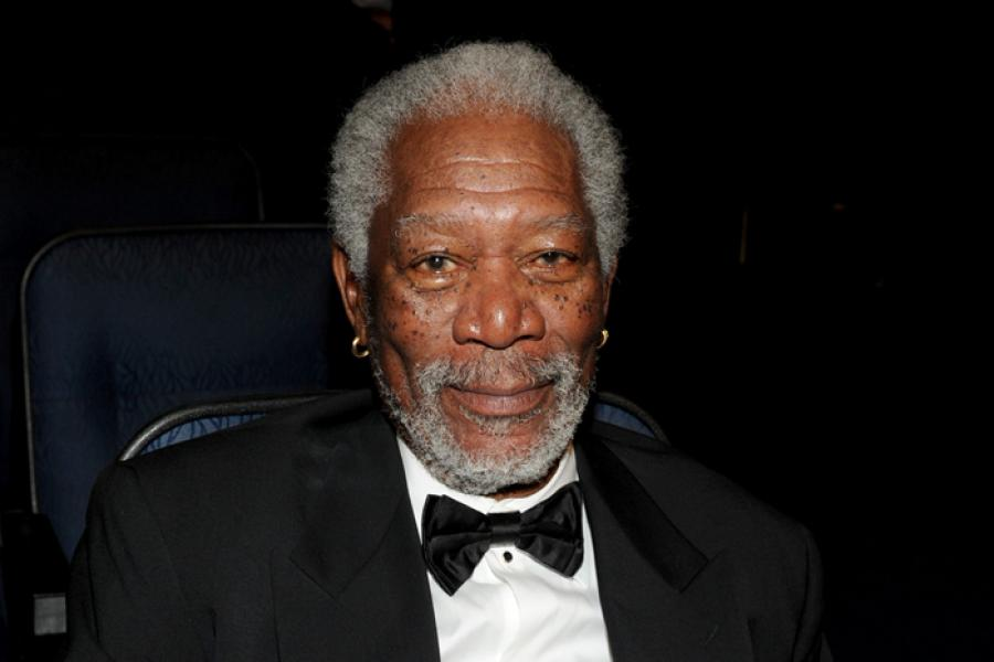 Morgan Freeman at the 65th annual Creative Arts Emmys