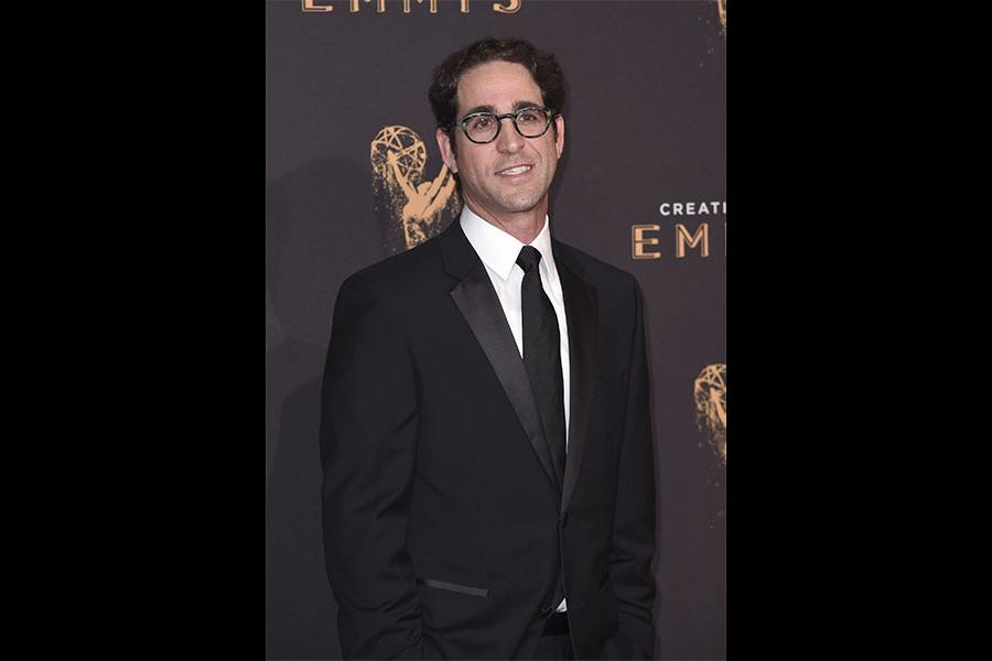 Gil Goldschein on the red carpet at the 2017 Creative Arts Emmys.
