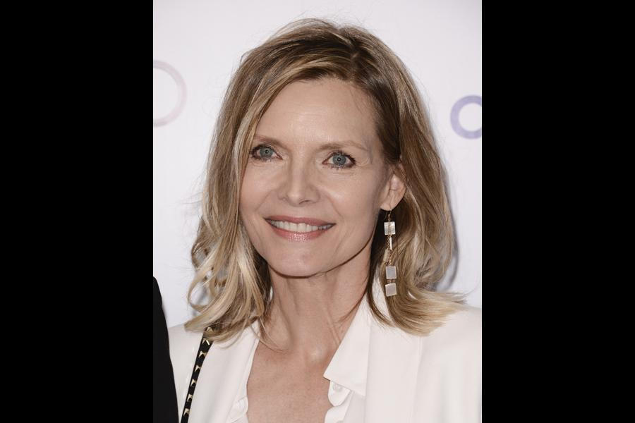 michelle pfeiffer attends the 2014 television academy hall