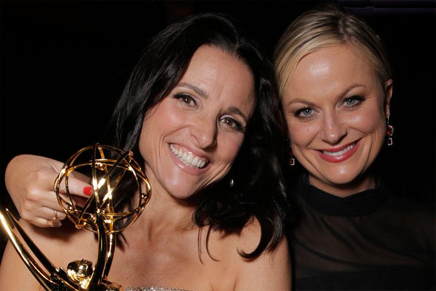 Julia Louis-Drefyus and Amy Poehler