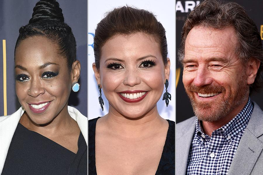 Tichina Arnold, Justina Machado, and Bryan Cranston