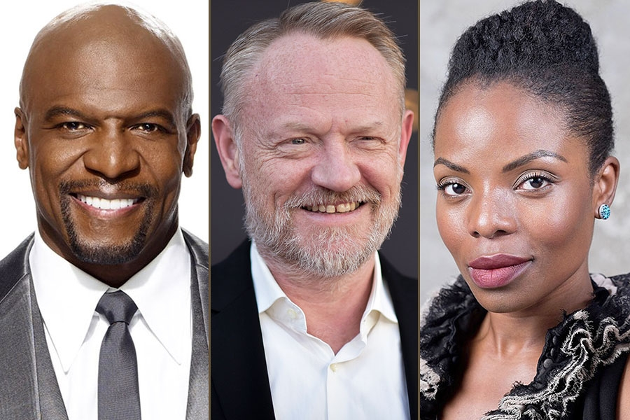 Terry Crews, Jared Harris, and Marsha Stephanie Blake