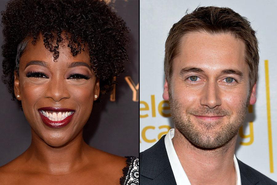 Samira Wiley and Ryan Eggold