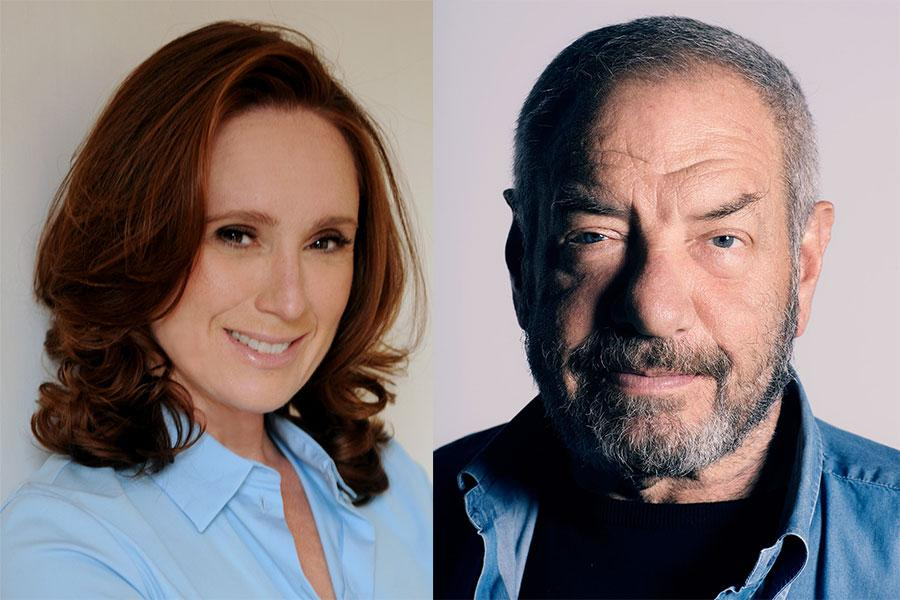 Noelle Wolf and Dick Wolf